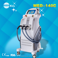 3 head electric facial hair removal IPL SHR beauty device multifunctional spa skin rejuvenation machine