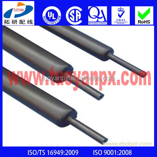 Medium Wall Heat resistant shrink tubing Insulating and for wire insulation