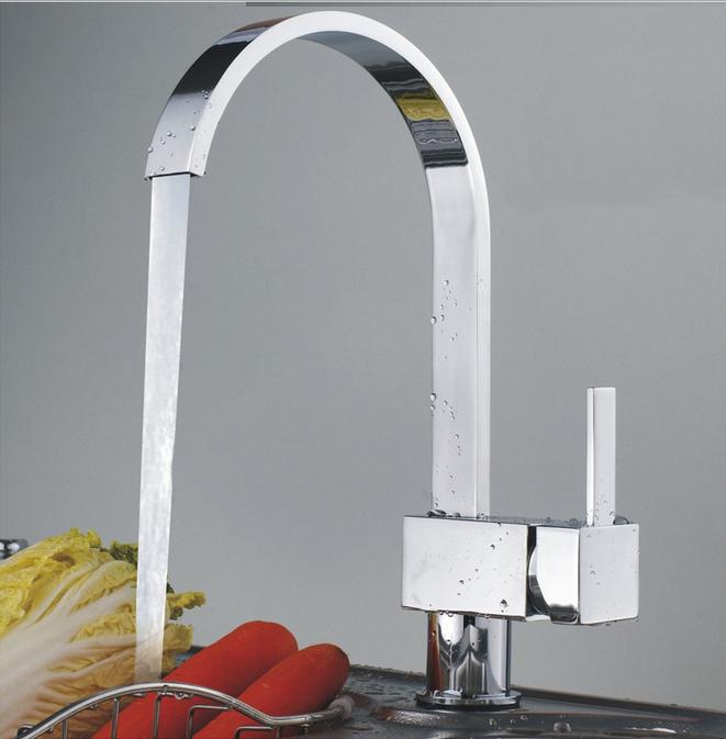 2016 Nouveau design cuisine crête de leau salle de bains bassin