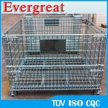 Registered famous brand EVERGREAT welded collapsible wire mesh container