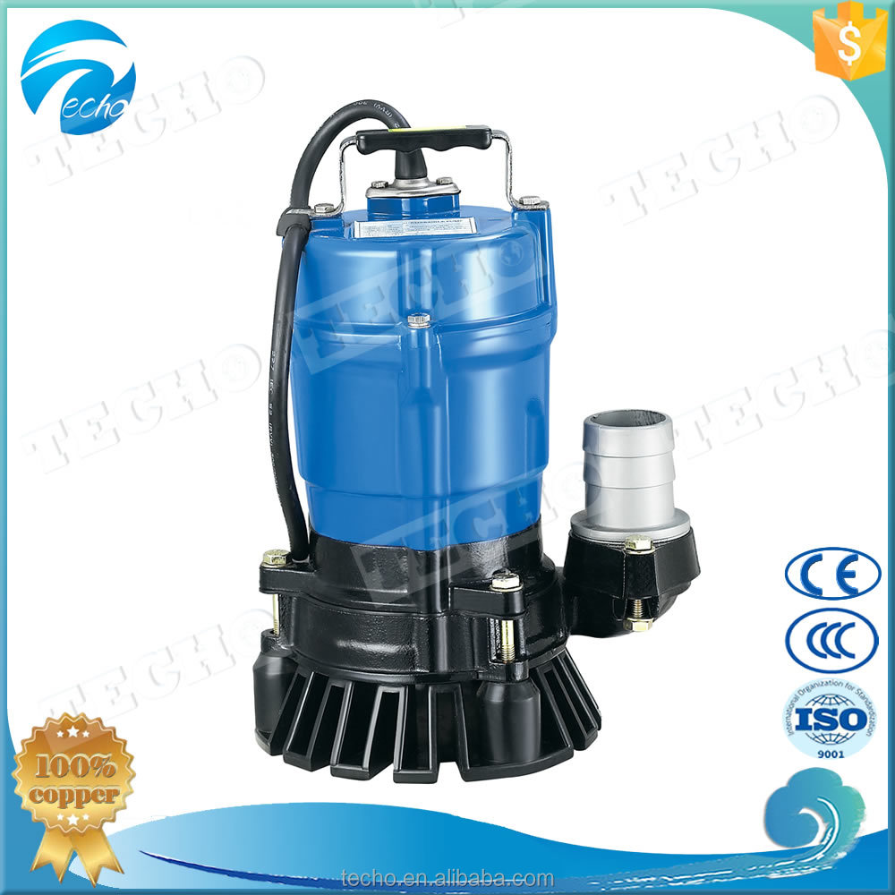 HS 2.75S 0.75kW/1HP Single-Phase Portable Drainage Pumps for Draining at Civil Engineering or Building Sites