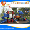 popular outdoor plastic playground for school