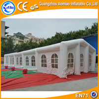 Giant Inflatable Dome Wedding Party Event Tent Airtight Military Tent