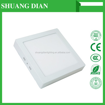 Shuangdian lighting LED panel lights MBMF 18W square 30000H Wholesale Cheap 85V 265V SMD 2835 3000K 6500K