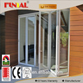 AS 2208 aluminum bi fold door low sill modern design door