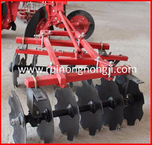 Multi-function pulled tandem disc harrow