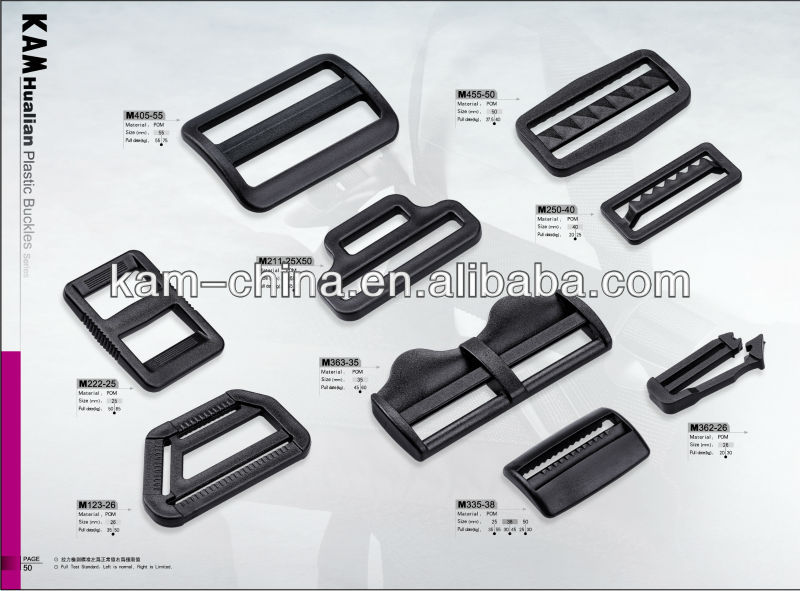 whoesale high quality quick release plastic buckle