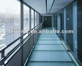 Anti slip glass stair/Glass floor/anti-silp glass floor/glass stair tread/glass panel