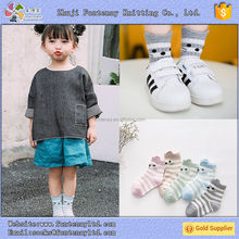 days of the week kids babys cotton young boy girls catoon tube socks