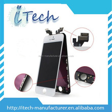 For iPhone screen 5, For iPhone 5 lcd screen+digitizer china mobile phone lcd manufacturer