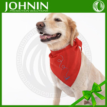 2017 Wholesale Customized Logo Printed Triangle Dog Bandana