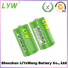 Green PVC D size R20p battery 1.5V dry battery for water heater