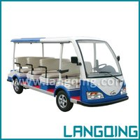 New Model CE Certificate 8-14 Seats Electric Sightseeing Tour Bus