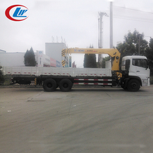 DONGFENG 6*4 25ton telescopic boom truck mounted with crane
