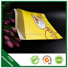 white and Kraft brown disposable packaging roasted chicken takeaway bag, Sandwich wrapping bag, bag for chips and fried chicken