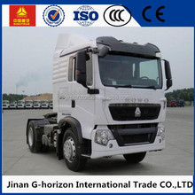 Sinotruk Howo A7 right hand drive 371hp 4x2 6 wheeler tractor truck