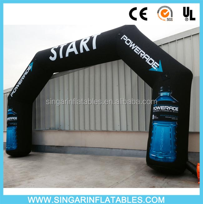 Good price Inflatable arch for marathon ,Inflatable Advertising Arch for promotion