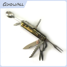 Stainless Multifunction Tool Swiss Style Army Knife/Outdoor Pocket Knife