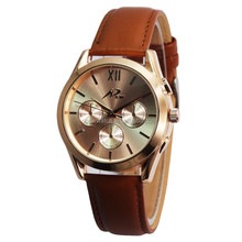 Top selling products 2017 leather belt watches men brand