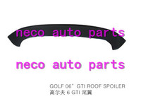 auto body parts fit for golf 2006 gti roof spoiler
