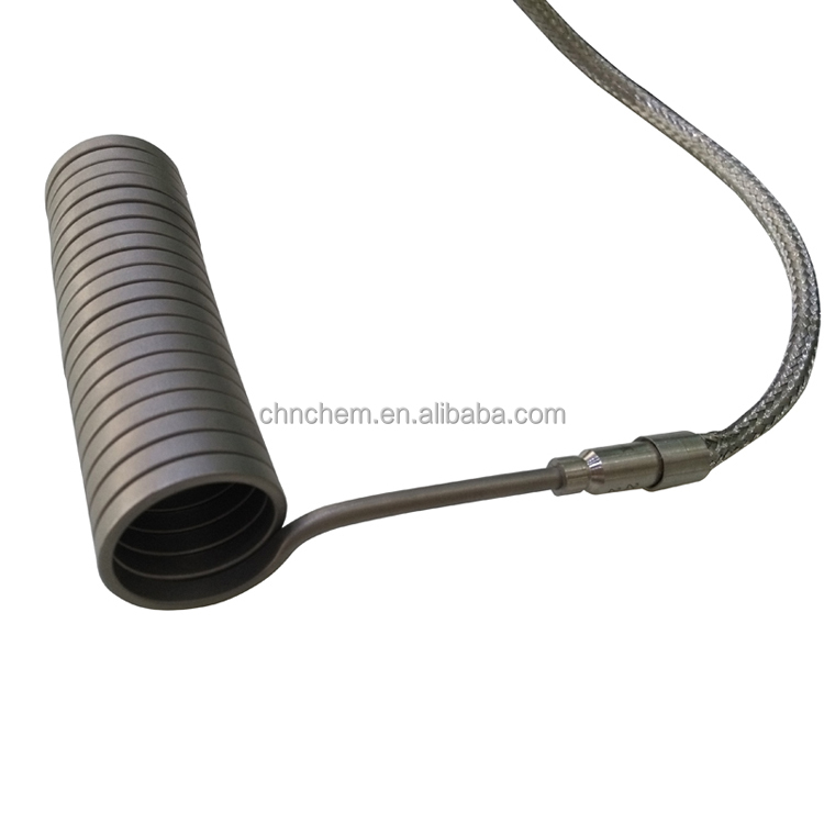 15.8/16/20mm inner diameter coil heater with metal covered