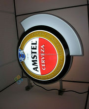 led illuminated side mounted led name tag beer sign board