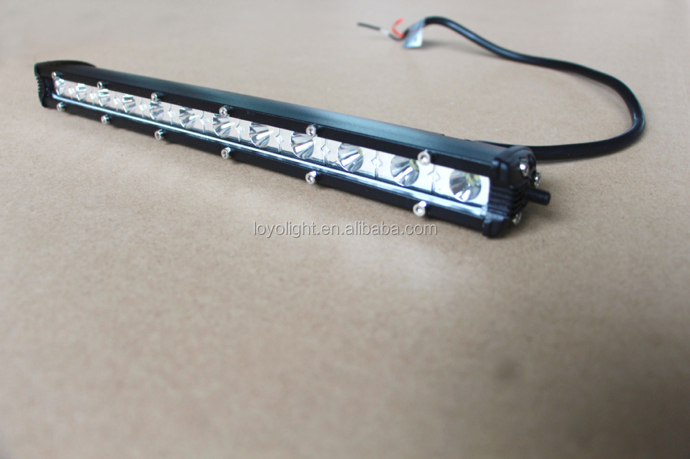 Truck accessories 10-30V 18w led offroad work light 7'' 6*3w super mini led lightbars