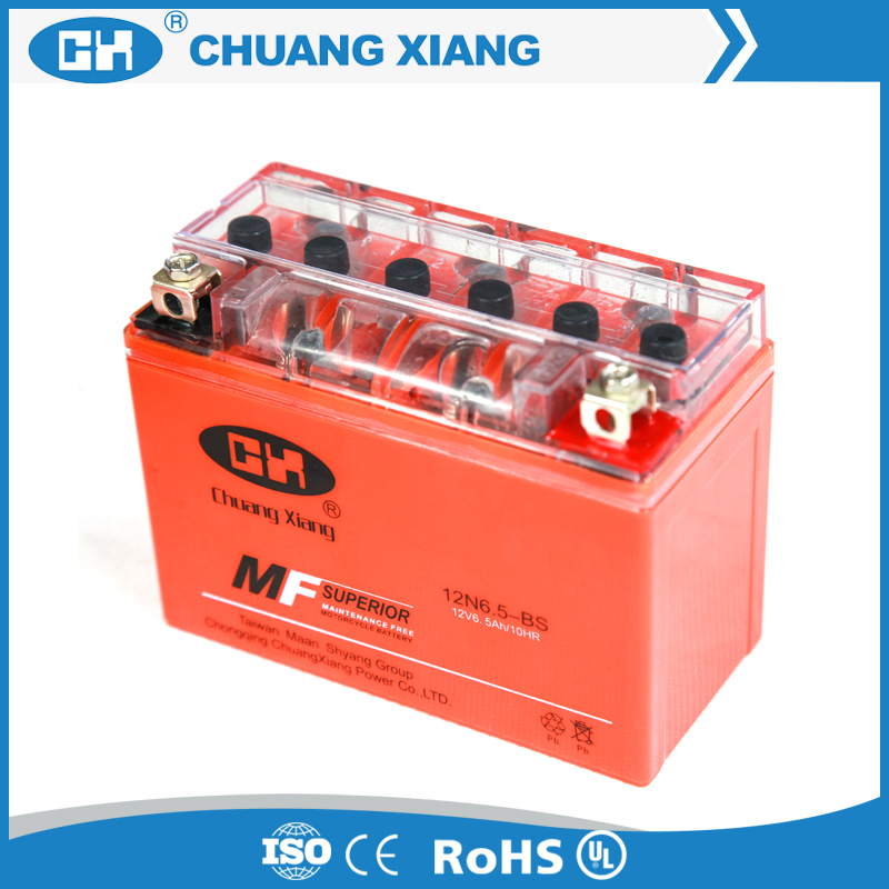 cheap motorcycle battery 12v 6.5ah gel battery made in China