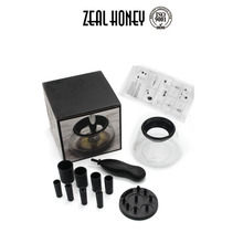 Zealhoney Deep Clean and Dry All Size Makeup Brushes 360 Degree Rotation Auto electric Makeup Brushes Cleaner Dry Machine
