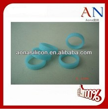Cheap Promotion custom silicone finger ring|Fashion cute hot selling silicone finger rings
