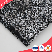 New fantastic designer white/black/grey color sequins lace fabric