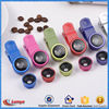 wholesale lots cell phones universal clip 3 in 1 camera fisheye lens, mobile telephone lens for 2016