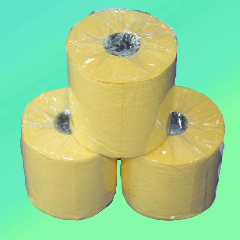 Manufacture 100% recycle paper color tissue paper for hotel and resturant