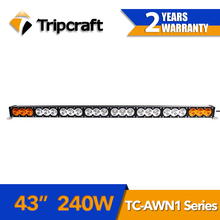 "Super quality 43"" 240W bar work light led 4x4 led driving light ATV UTV waterproof Spot/Flood/combo led light bar"