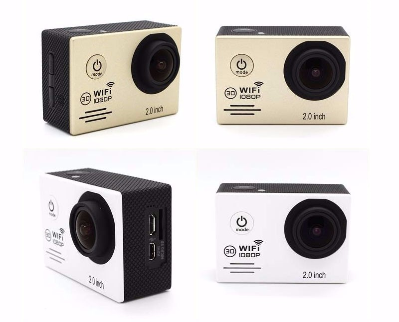 Ultra HD 1080p wifi action camera waterproof 30m sports DV