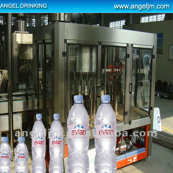 Jiangmen Angel new small scale PET bottle water processing