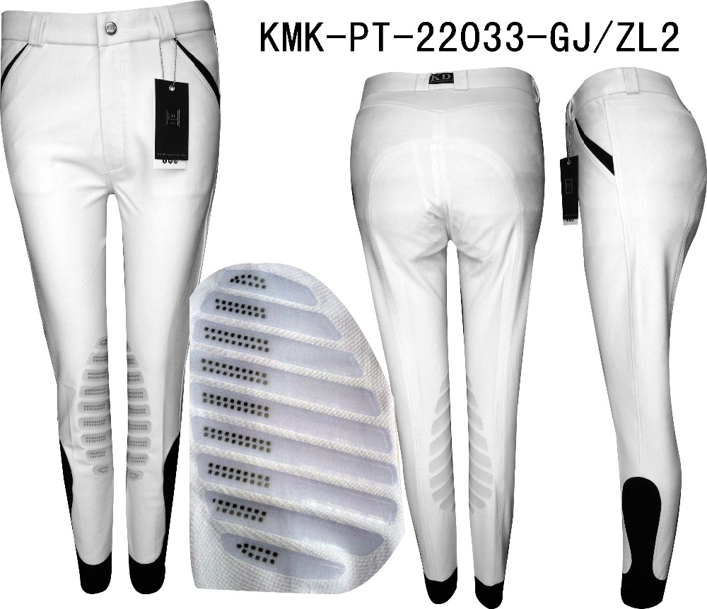China horse half silicone breeches jodhpurs manufacture