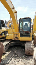 used PC130 crawler excavator good function