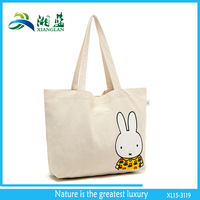 printing cotton quilted handbags, short handle beautiful cotton carry bag