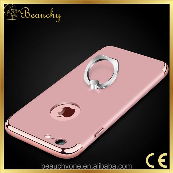 Beauchy under 2 dollar 360 Degree Full Cover 1mm mobile phone cover with free Tempered Glass Screen Protector for iphone