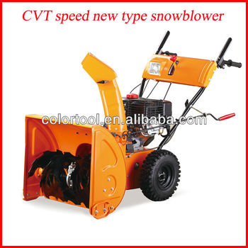 Snow plough snow blower gasoline power cleaning tools/loncin snow thrower