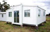 fireproof 20/40FT expandable container house with cool design