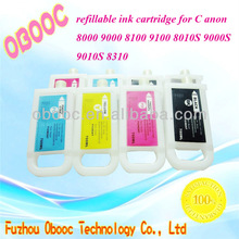 Top Selling! Large Format Refillable Ink Cartridge for Canon IPF 8000 9000 8100 9100 8010S 9000S 9010S 8310