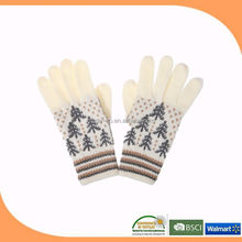 knitting winter glove made in china