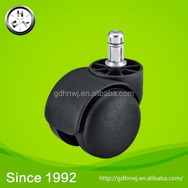 Factory Office Chair Caster Wheels Silicone Furniture Ring Stem Caster
