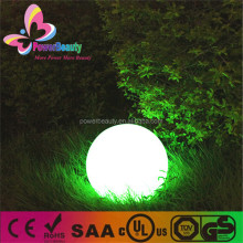 2015 hot sale mini ball decor home garden color changing led ball light outdoor