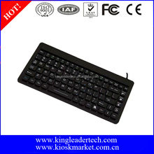 Compant slim silicone rubber computer keyboard