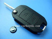 2 BUTTON FLIP KEY CASE UPGRADE FOR VAUXHALL OPEL CORSA C COMBO MERIVA REMOTE KEY