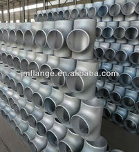 Black Malleable Iron Pipe Fitting Tee Equal