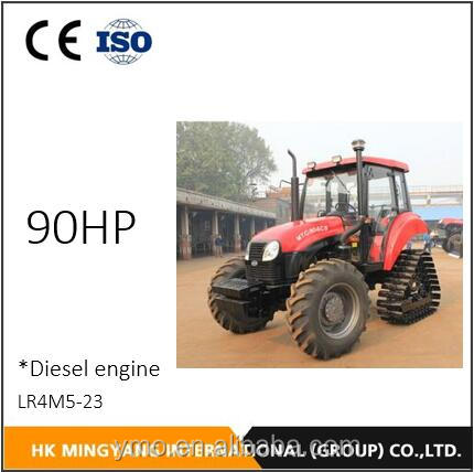 Chinese brand 90HP agriculture machinery Crawler Tractor